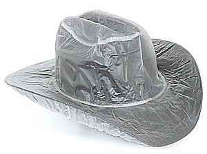 Plastic cheap windproof rain hat