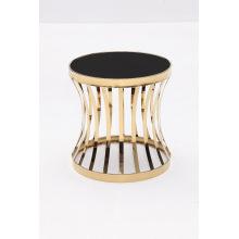 De moda de la sala Titanium + mesa de café de cristal