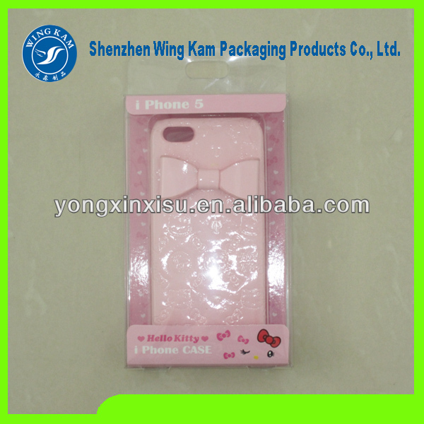 Custom Luxury Mobile Phone Case Packaging with ready-made mass production molds