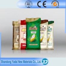 25kg 50kg PP saco de plástico tecido de arroz com farinha de açúcar