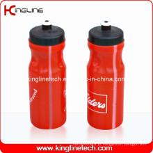 Garrafa de água de plástico, garrafa de água de plástico, garrafa de bebida de plástico de 700 ml (KL-6750)