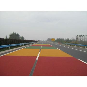 Farbige rutschfeste Straße Courts Sports Surface Flooring Athletic Running Track