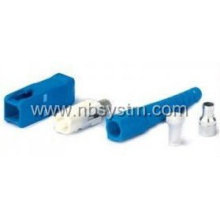 SC / PC SM Simplex Fiber Connector 3.0mm, cor azul
