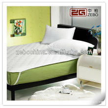 Hot Sale Polyester Four Corners with Elastic Quilted Mattress Protector