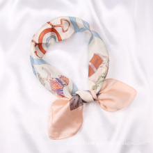 New Fashion Designers Inspiration Bandana Scarf  Women Luxury Silk Scarves From China