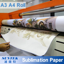 A3 Transferência de calor do rolo A4 impressão de papel de sublimação para têxteis