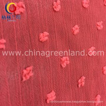 Polyester Jacquard Fabric for Woman Dress Garment (GLLML231)