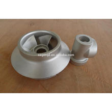 customized steel sand casting water pump parts
