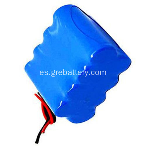 18650 14.8V 4400mAh recargable litio Ion