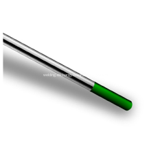 Electrodo de tungsteno puro WP