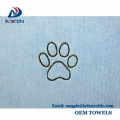 Ultra Soft Pet Living Mikrofaser Pet Handtuch für Hunde Katzen Trocknen 100cm x 60cm Blau