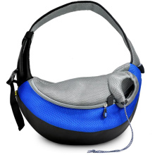 Blue Large PVC et Mesh Pet Sling