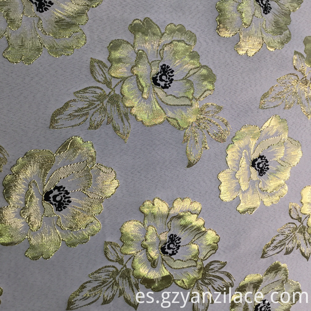 Floral Jacquard Fabric