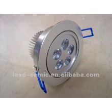 washroom lighting sensor motion 6w led lamps hotel lobby ceiling light
