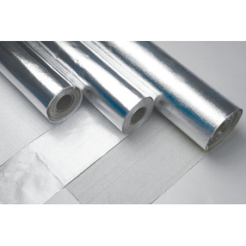 Revêtement tissu alun-verre