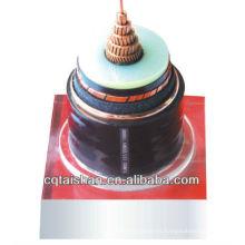 (TS-YJV 26 / 35KV 1 * 150) Cable de transmisión de la envoltura del PVC del aislamiento de 26 / 35KV XLPE para las construcciones