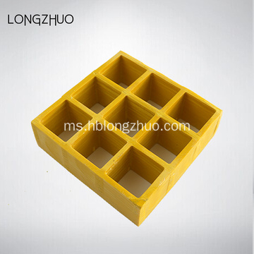 Anti Slip FRP Molded Grating Dengan Grating Grating Cover
