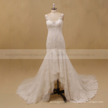 Robe de noblesse mariage mariage indonesia robe de mariée haute-basse