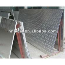 Feuille à carreaux en aluminium pour anti-dérapage