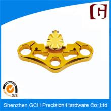 OEM Präzisionsbearbeitung mit Kupferbeschichtung durch CNC