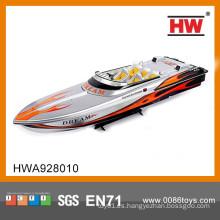 Barco teledirigido grande de alta velocidad vendedor caliente de 3 CH