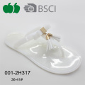 Lady New Fashion Summer Flat Jelly Crystal Slippers