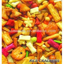 Chrismas de alta calidad japonés arroz cracker