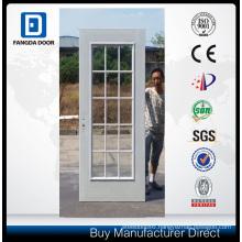 15 Full Lite Glass American Premium Prehung Steel Door Slab