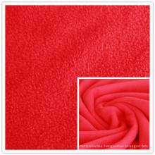 DTY 150d 288f Plain Dyed 100% Polyester Polar Fleece for Blanket, Textile, Garment.