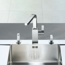 Spring Kitchen Faucet and Mixer with Brass