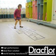 PVC Roll Flooring Plastic Floor Covering (F-2101)