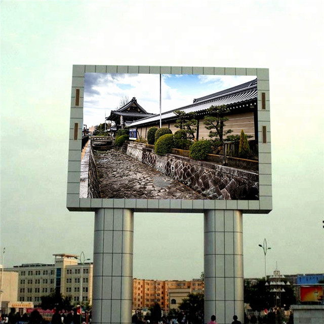 Perfect Service Column P10 Outdoor Led Display
