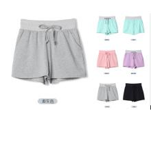 OEM Frauen, die 2015 Qualitäts-Sportkleidung-Frauen-Baumwollshorts kleiden