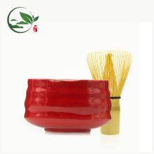 Keramische Schüssel der großen zeremoniellen japanischen Art für die Herstellung von Matcha-Tee (12.5X7cm)