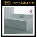 Comfortable Size Rectangle Freestanding White Solid Surface Bathtub (BS-8620)