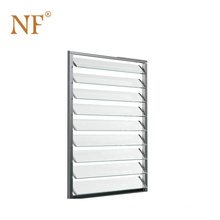 Aluminum Jalousie Window with Clear Glass/Frosted Glass