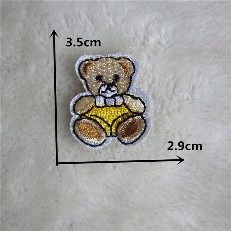Cartoon Bear Embroidery Patch