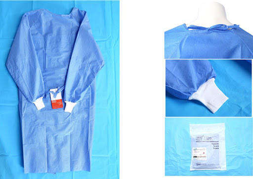 Surgical gown for hospital
