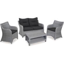 Уличная мебель патио плетеная из ротанга Lounge диван набор Сад