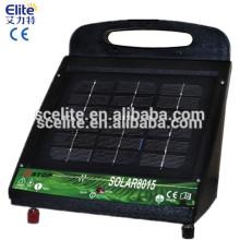 Carregador de cerca elétrica solar máxima solar energizadora de cerca elétrica