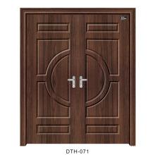 Porta interior da porta de madeira da porta do PVC (DTH-071)