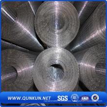 Malla de alambre soldada galvanizada de PVC con precio de fábrica