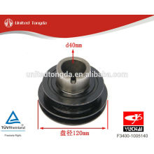YUCHAI engine YC4F crankshaft vibration damper F3400-1005140