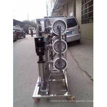 Sistema de RO industrial da osmose reversa do aço inoxidável para o tratamento de água
