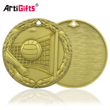 Medallion Company medalla y medalla bronceados de la medalla del voleibol