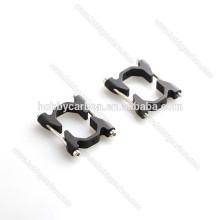 Multirotor Verbinder Aluminium Klemmen / Clips Kohlefaser Vierkantrohr Klemme