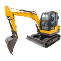 Backhoe Back Cangkul 3.5 Ton New China Digger Chinese Mini Excavator