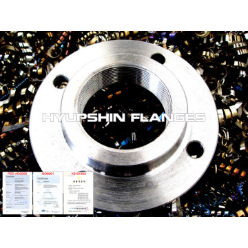 S235JR PN16 DIN2566 THREADED FLANGE