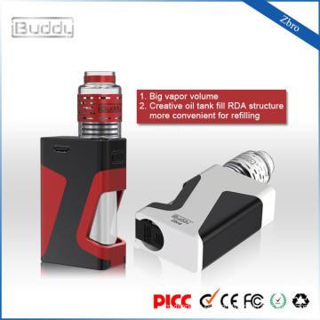 iBuddy Zbro 1300mAh 20-60W mods rda atomizador box mod