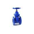 penyegelan lembut cast iron wedge 250mm gate valve dibuat di Cina